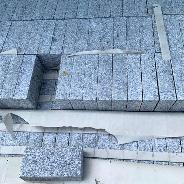 Silver granite 200 x 100 sawn